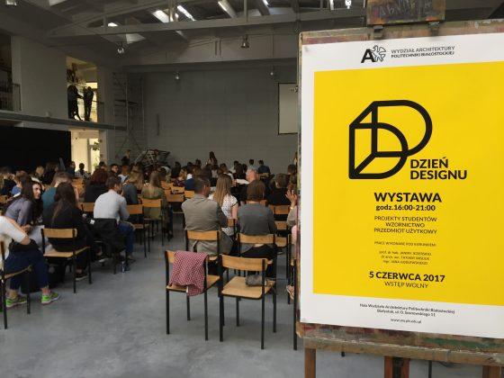 5 czerwca Wydział Architektury Politechniki Białostockiej zorganizował Dzień Designu.