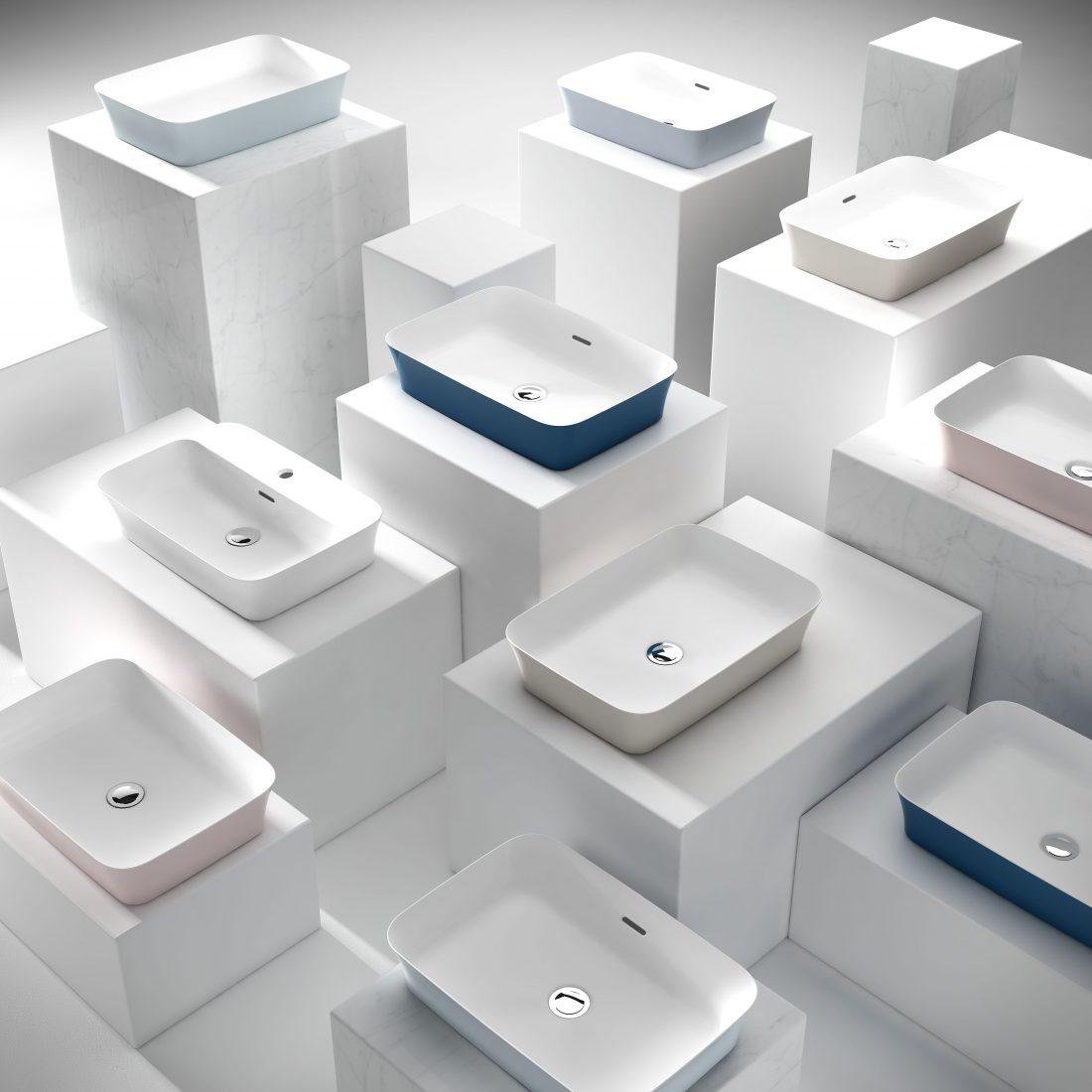 Umywalki z serii Ipalyss