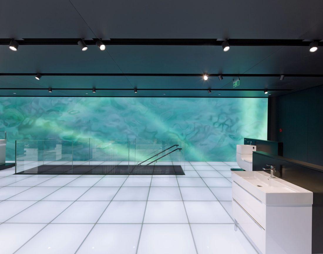 Roca Gallery w Pekinie fot. Roca