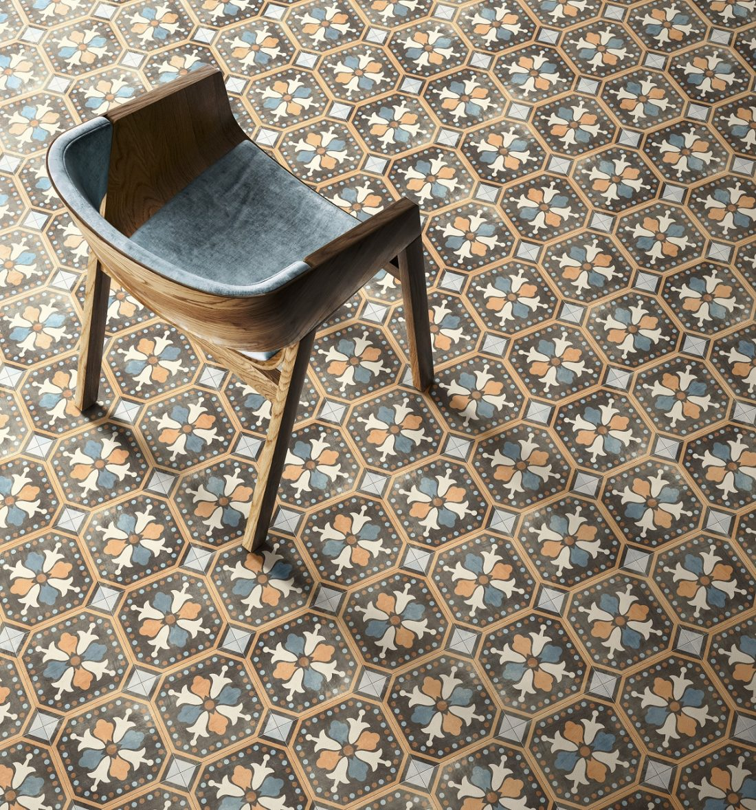 Kolekcja Patchwork Colors od Ceramica Sant'Agostino / fot. Ceramica Sant'Agostino