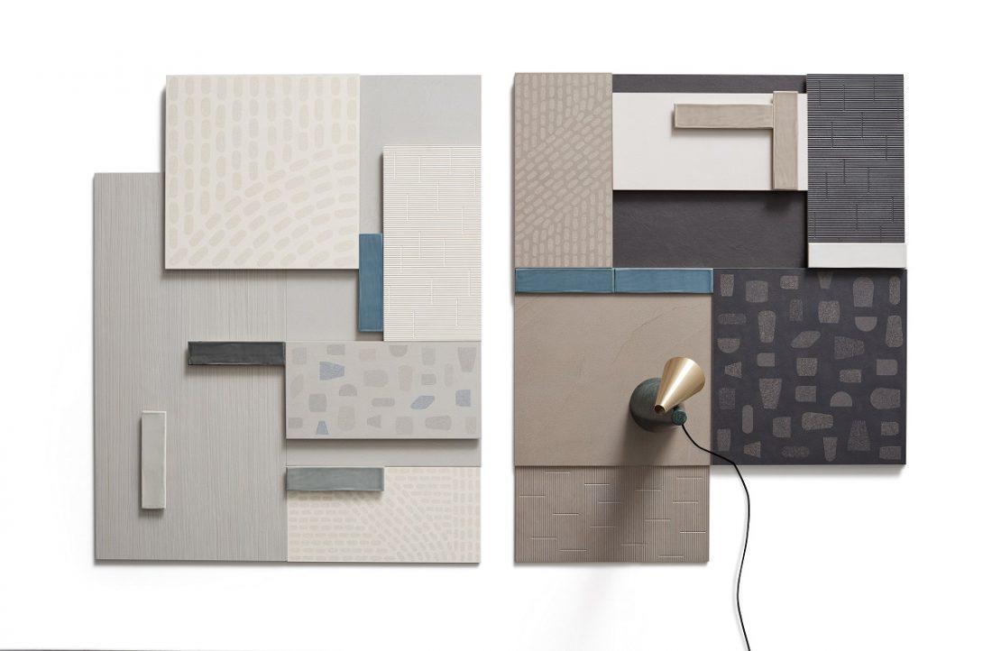 Kolekcja Fragments zaprojektowana przez Pierre Charpin, Ceramiche Piemme / fot. Ceramiche Piemme