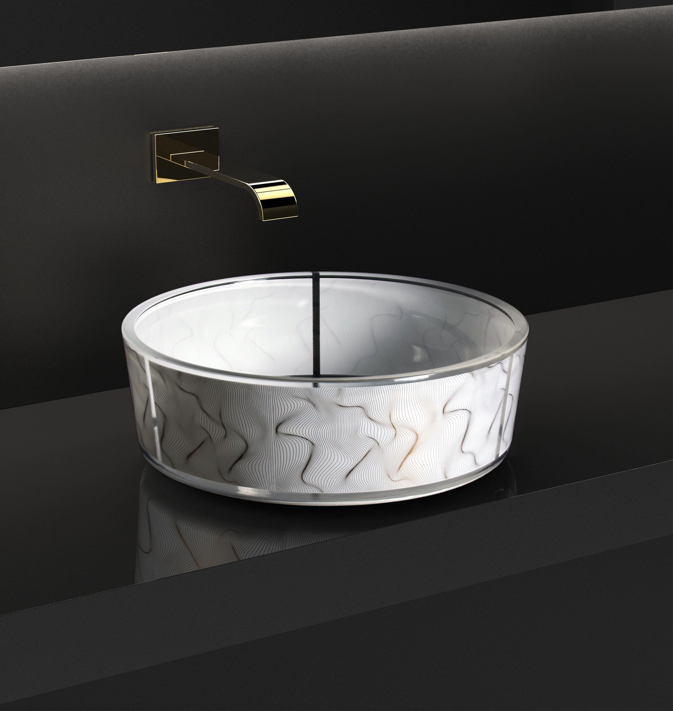 Umywalka Vento marki Glass Design