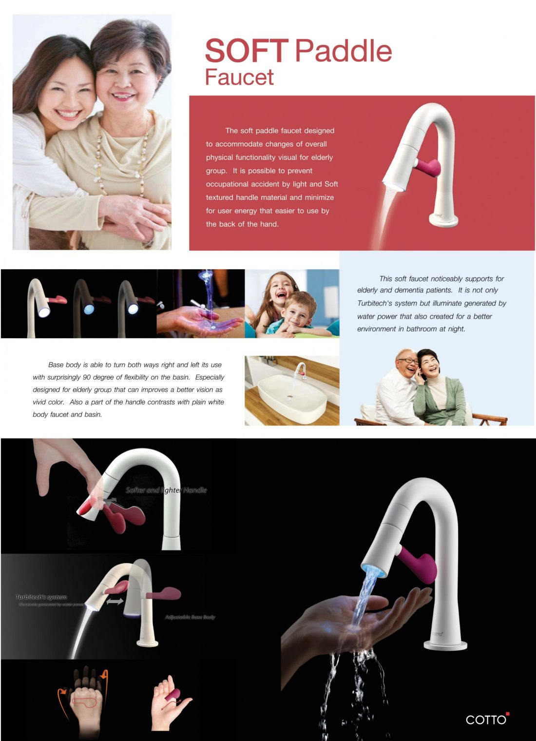 Armatura Soft Paddle, prod. Siam Sanitary Ware Industry Co., Ltd.