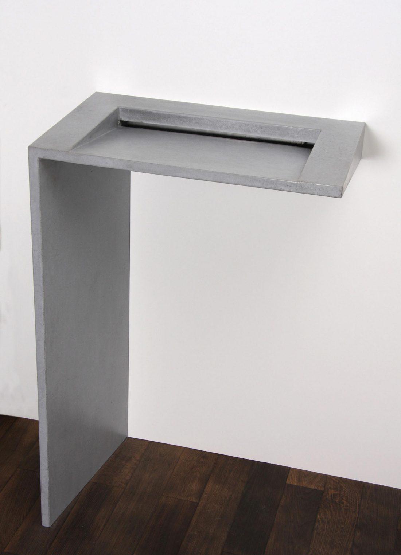Betonowa umywalka L-Form Edition, Traumraum Design By Nonnast