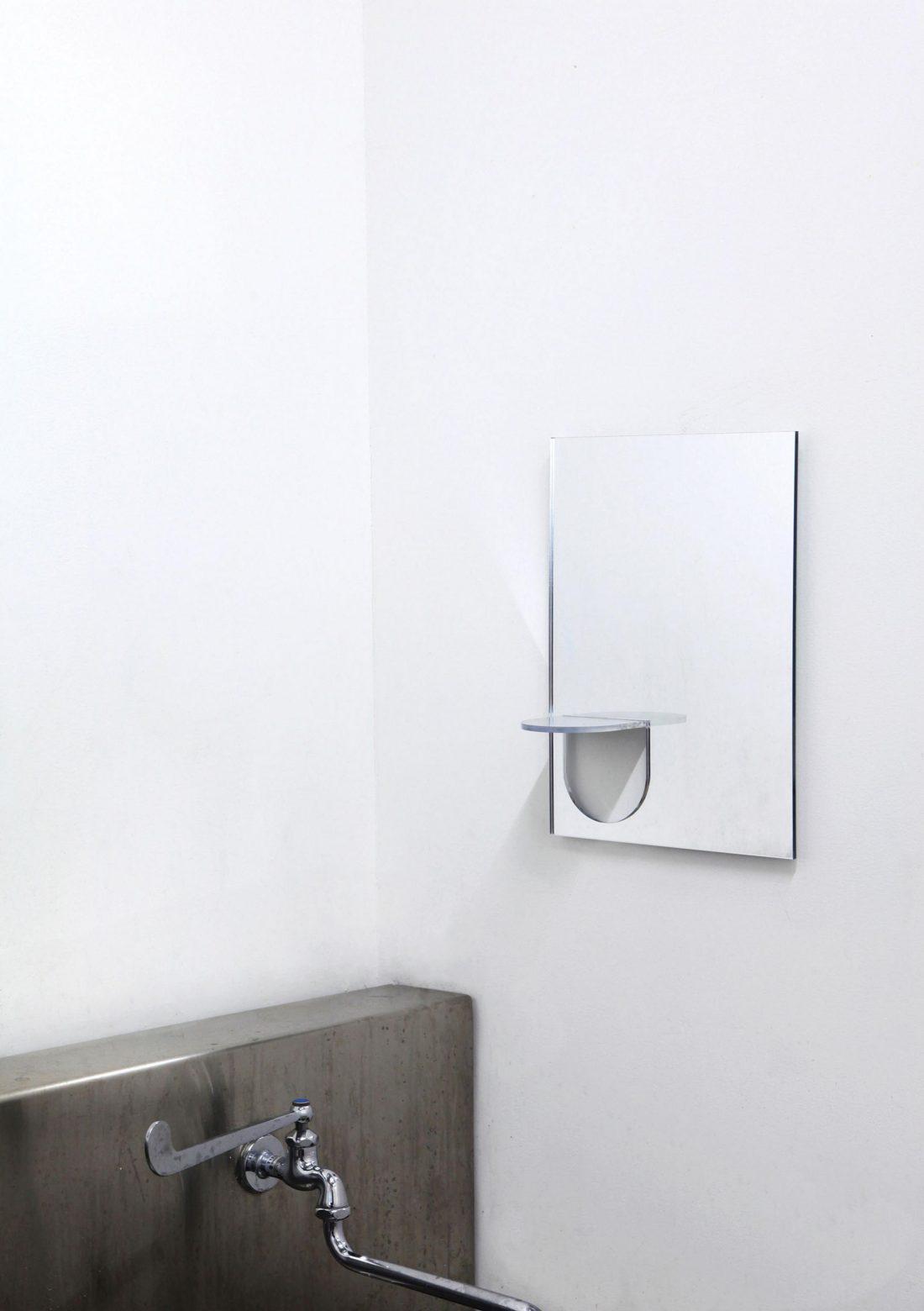 Lustro the U mirror, prod. studio yumakano