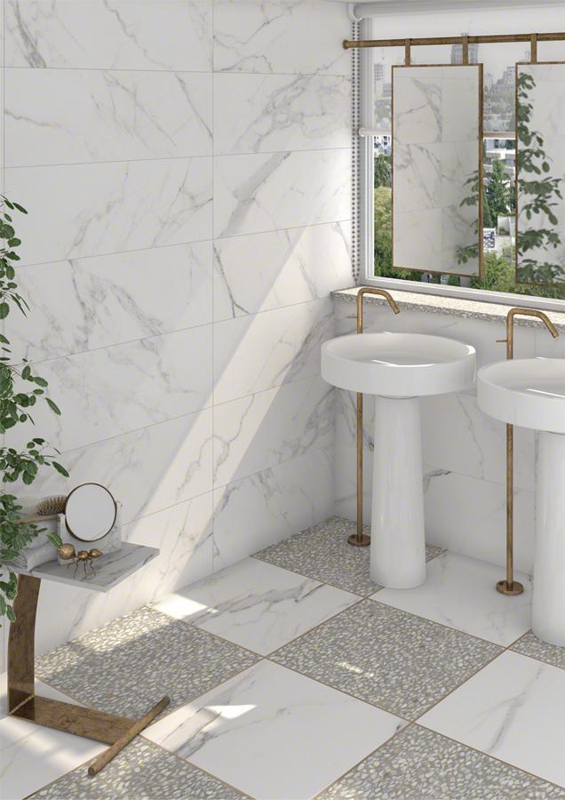 Marmur W łazienkach To Hit Sezonu Designbiznesłazienki