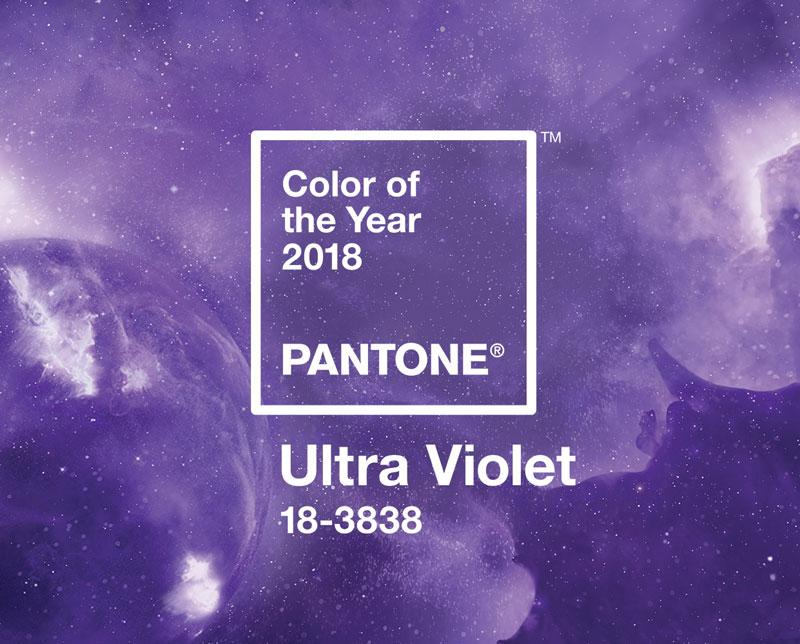 Kolor roku 2018 wg Pantone: Ultra Violet. / fot. mat. prasowe