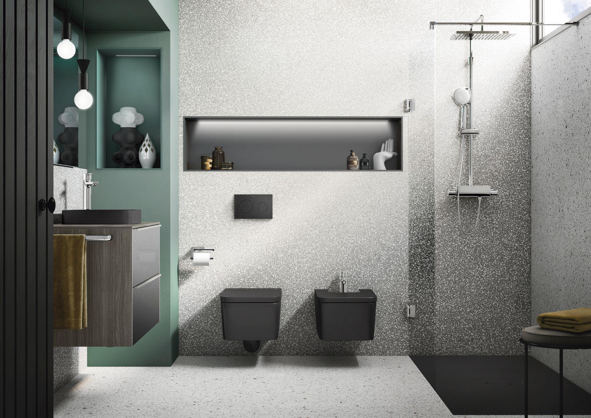 Czerń W łazience Pasuje Wszędzie Sprawdzamy Designbiznes